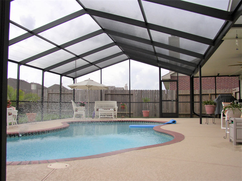 Pool Screen Enclosures Spring Pool Enclosures Pool Cages And Patio Enclosures